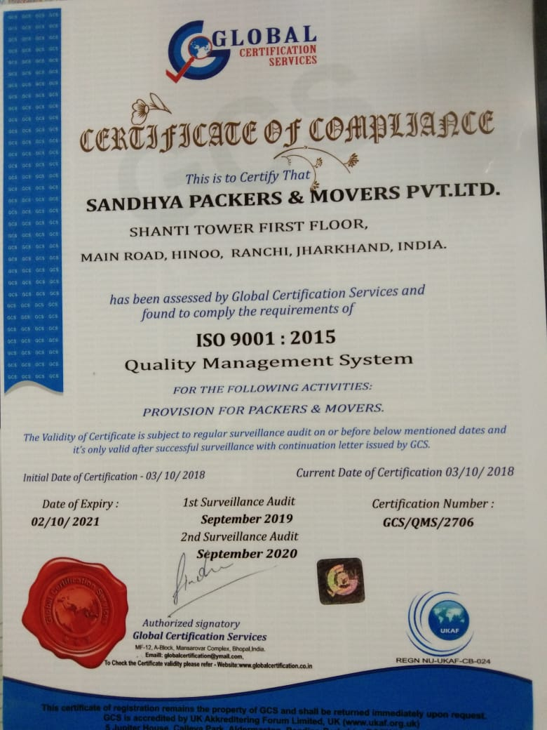 | Sandhya Packers and Movers | sandhyapackers.com