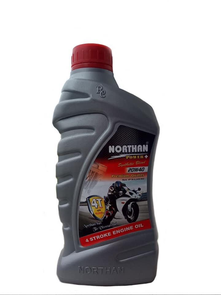 20 W 40 4 Stroke Engine Oil Power + | Northan Lubricants |