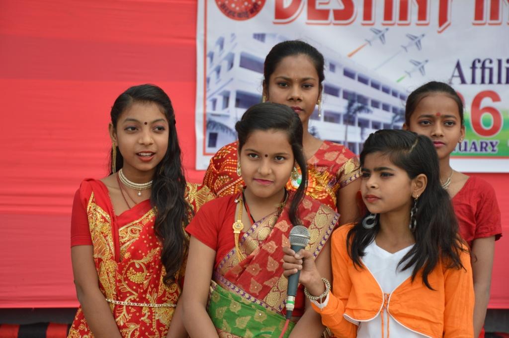 Superb performance by students on 26 janurary | Destiny International School | destinyinternationalschool.in