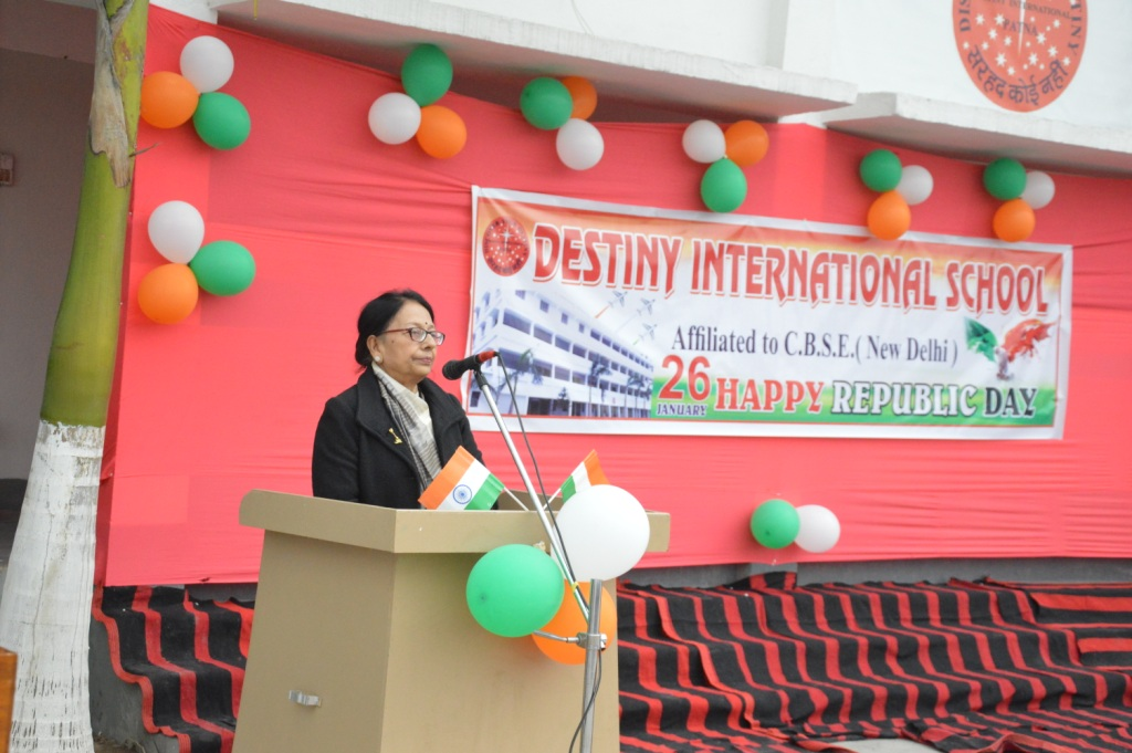 Republic day celebration | Destiny International School | destinyinternationalschool.in